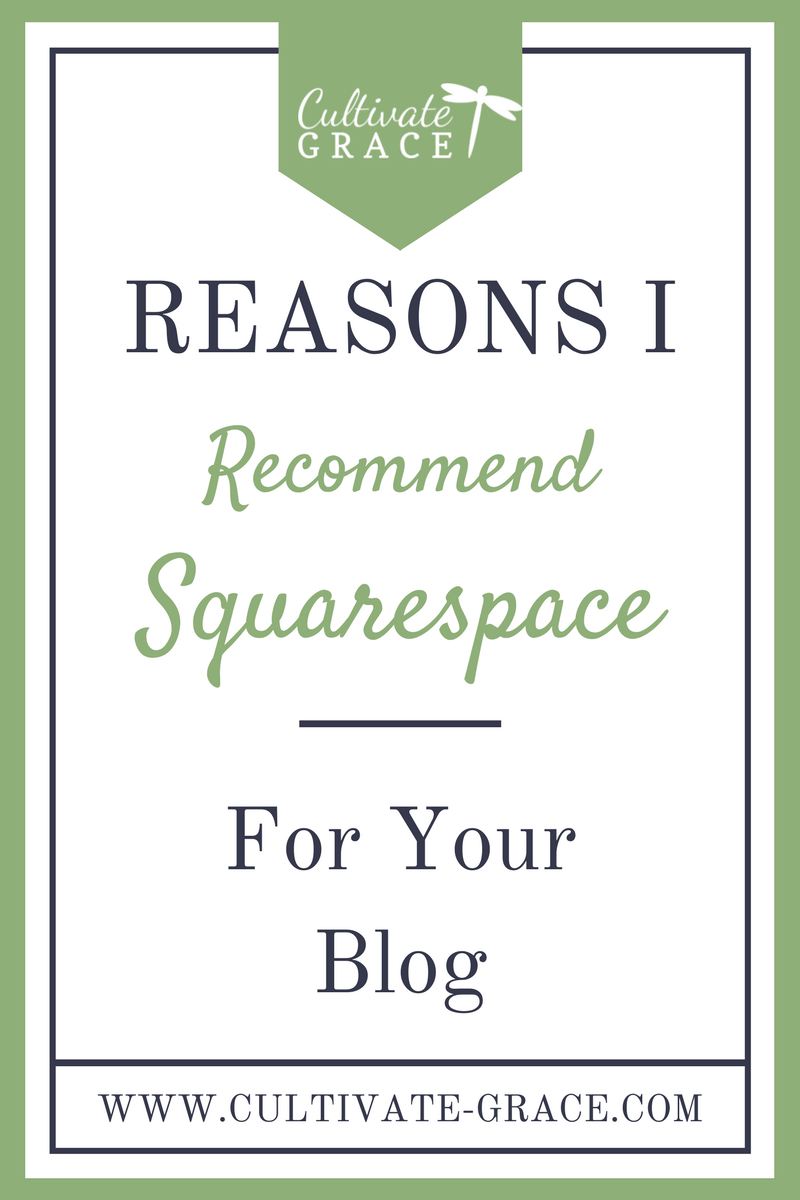 Reasons I Recommend Squarespace