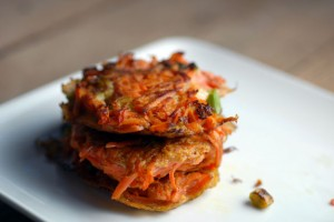 Amazing, Simple, Delicious Carrot Latkes