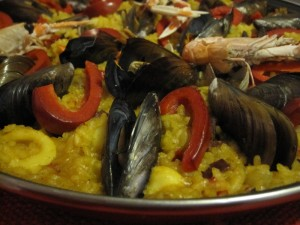 Authentic Spanish Paella de Abuelita