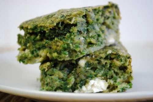 Mama's Spinach Kugel
