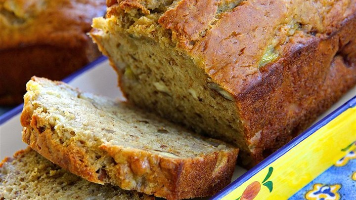 Not Your Bubbie's Banana Bread