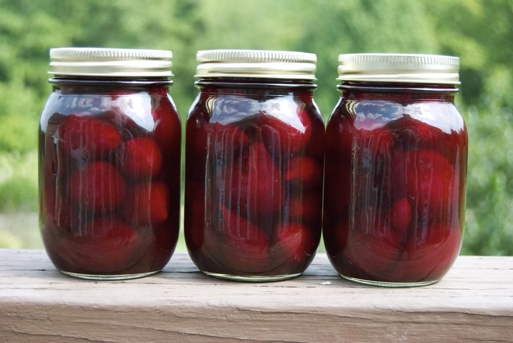 Grandma Guzzie's Pickled Beets