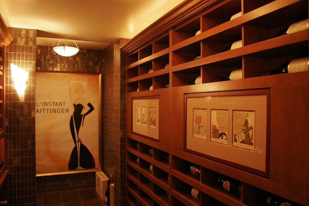 Wine Cellar for Residential Home