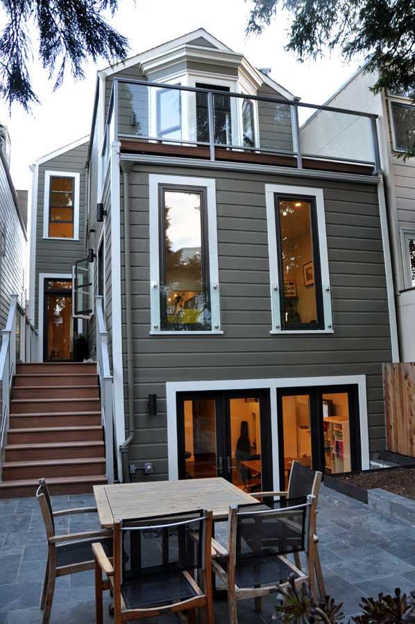 San Francisco House Restoration and Addition