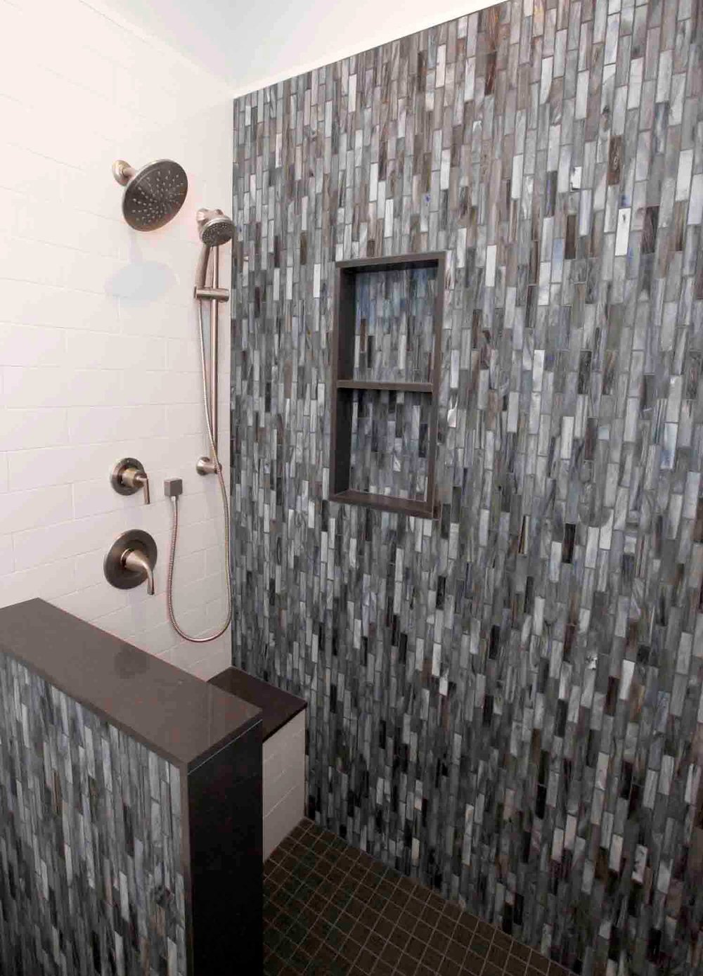 Bathroom Remodel with Custom Shower
