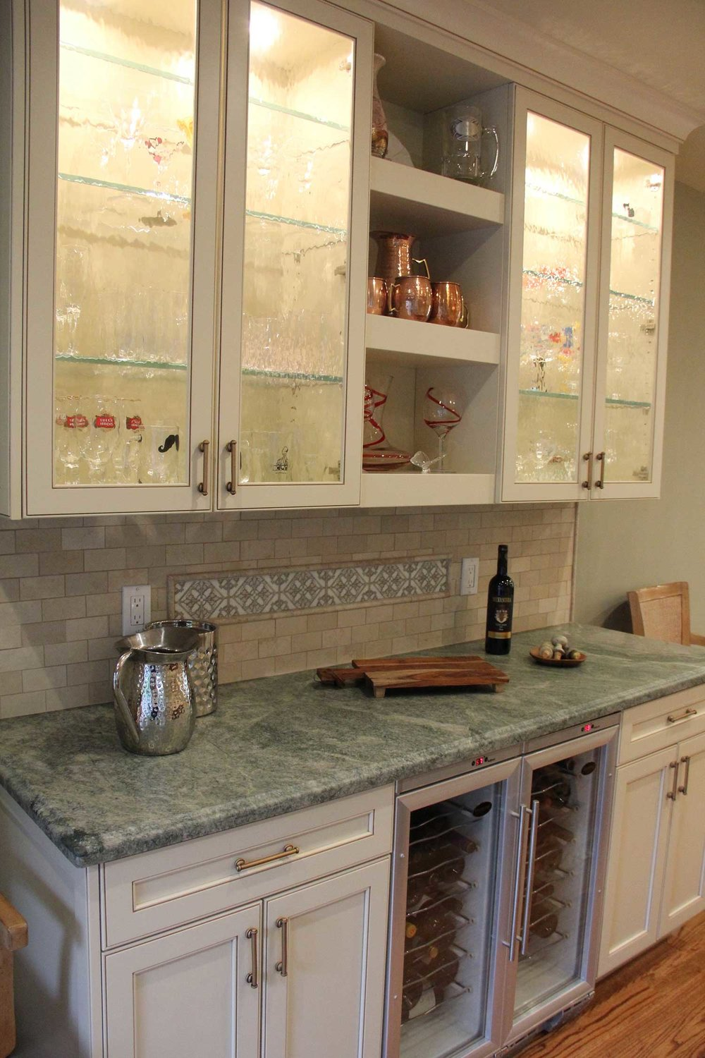 Kitchen Remodel with Custom Features