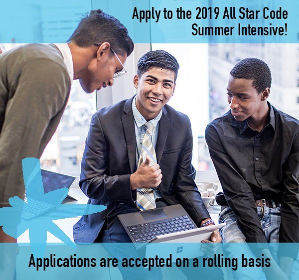 Applications are open now for the All Star Code 2019 Summer Intensive! You could be a part of the next tech revolution. Free to apply and attend at allstarcode.org/apply. Link in the bio.  #allstarcode #allstarcode5 #summerintensive #nyc #pittsburgh #nonprofit  #diversity tech #coding #blackboyjoy #blackexcellence