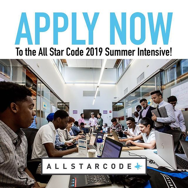 You can be the one to change the status quo. Apply to our 2019 #coding Summer Intensive and become an All Star. Link in the bio.  #allstarcode #summerintensive #nyc #pittsburgh #nonprofit  #diversity #tech #blackboyjoy #blackexcellence #summerprograms #summercamp #summer2019