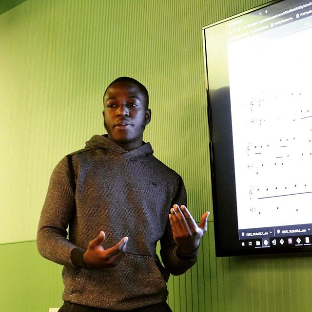#Process: Sometimes, All Star Code scholars use their entrepreneurial mindsets to identify a problem and solve it. In Ghana, there are over thirty messaging groups for composers who want to share music scores. At our Spring Celebration on March 14,  ASC Scholar Kwaku Kessey Ankomah will be showcasing his project GraceScore, which brings both upcoming and well-established composers from Ghana together on one platform. Come see him and our other All Stars in action! Tickets available in the bio.