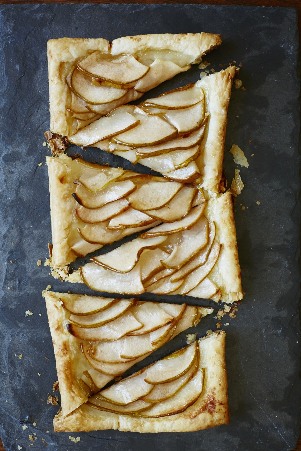 Pear Slab Tart