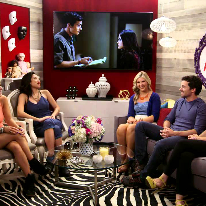 PRETTY LITTLE LIARS SUPER FAN SUITE  ABC FAMILY