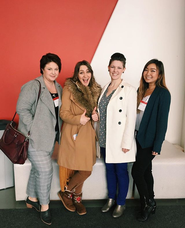 The FutureINDesign ladies presented at Adobe for the Employee Community Fund Showcase as 2018 Grant Winners. We were inspired by all the amazing organizations out there. Thank you @adobe ! . . . #adobe #employeecommunityfundshowcase #grant #adobegrant #adobeutah #futureindesign #lehi #coding #design #adobephotoshop #adobeillustrator #adobeindesign