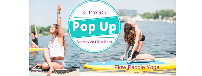 Memorial Day Weekend Kick Off!  We'll be running mini-lessons and demos.  Come meet paddlers, yogis, friends old and new.   Try out your sea legs, try a new board.  Hang out and enjoy the day.  Fun for the whole family.  SUP Yoga, surprises & more!   Saturday May 28th 1 - 2:30 pm                                                 Maple Cove, Red Bank