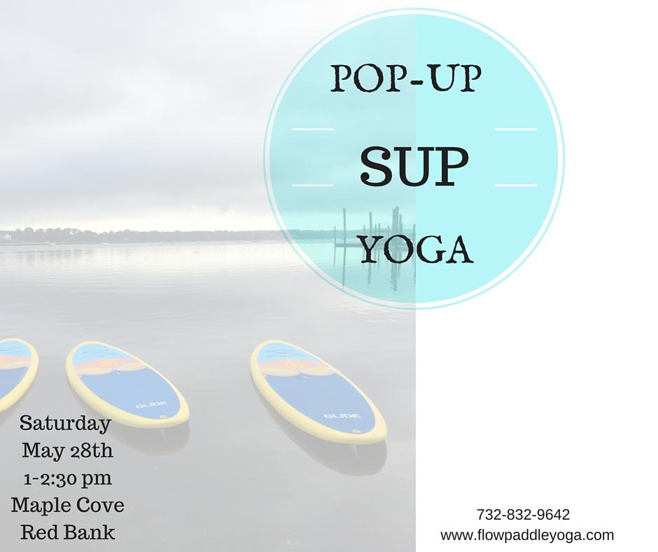 Pop-Up SUP Yoga