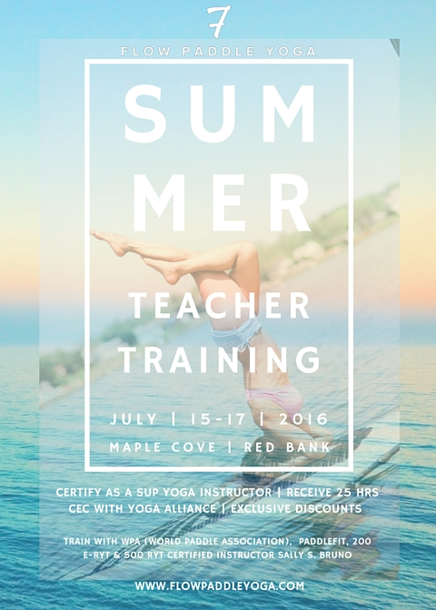 Flow Paddle Yoga Teacher Training Sup Yoga Certification Flow