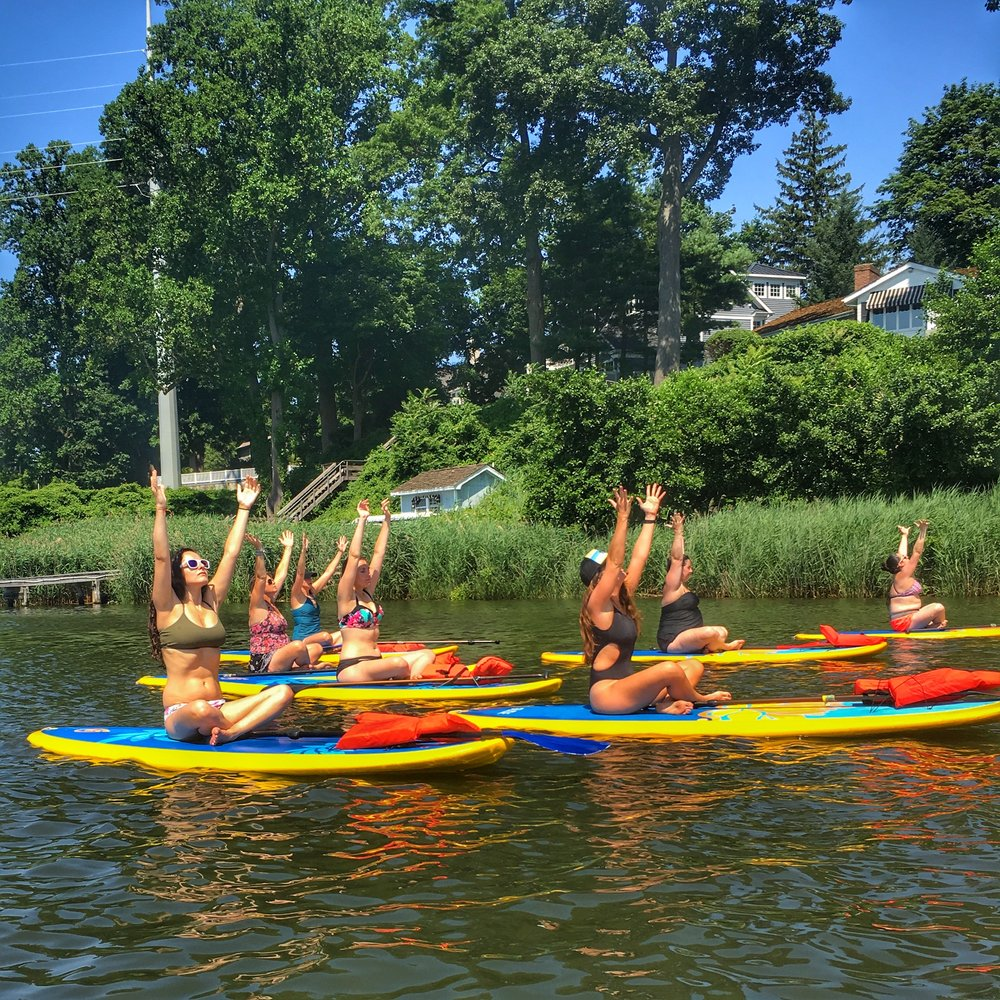 Eastside Bodyworks meets Flow Paddle Yoga