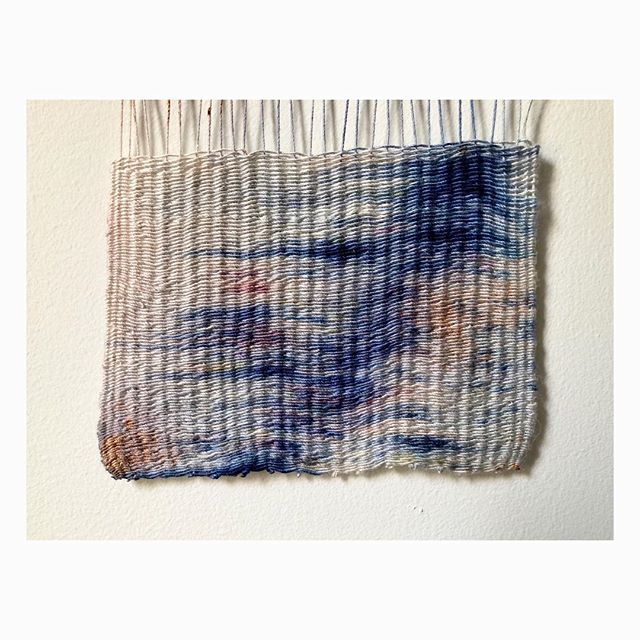 #weaving #study #handdyed #textiles #textilearts