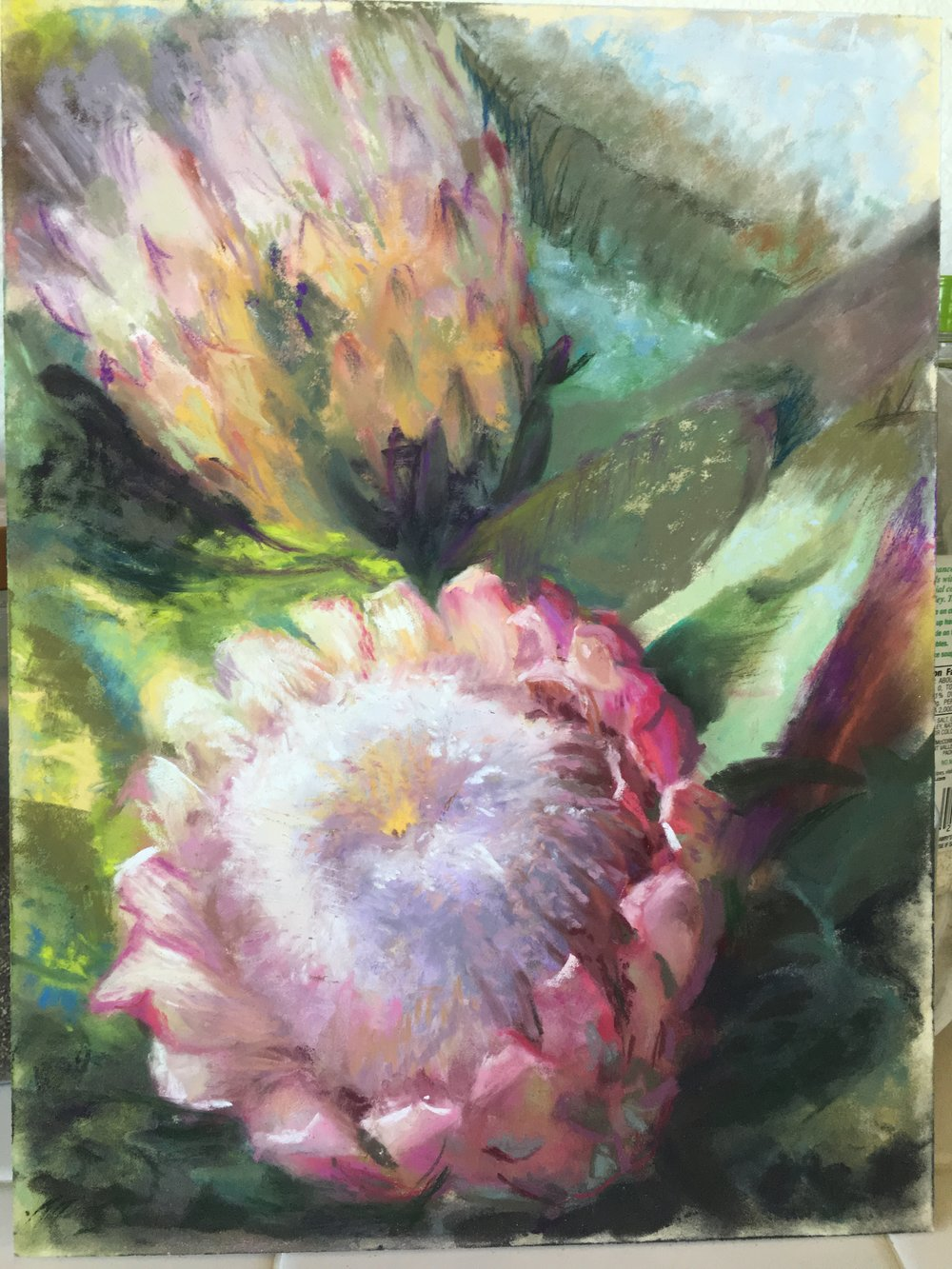 DAWN HARRISON PINK FLOWERS.JPG