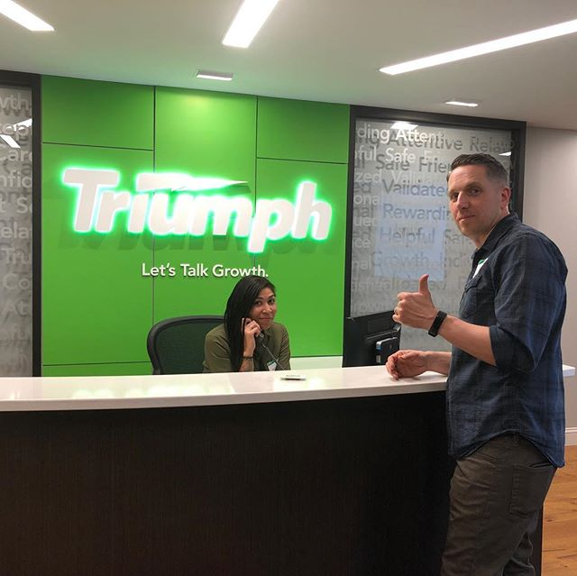 Always a great time with the good folks @triumphbank! We joined them last night for their annual Shareholder's Meeting.  #getkitbashed #branding