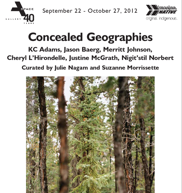 Concealed Geographies, 2012