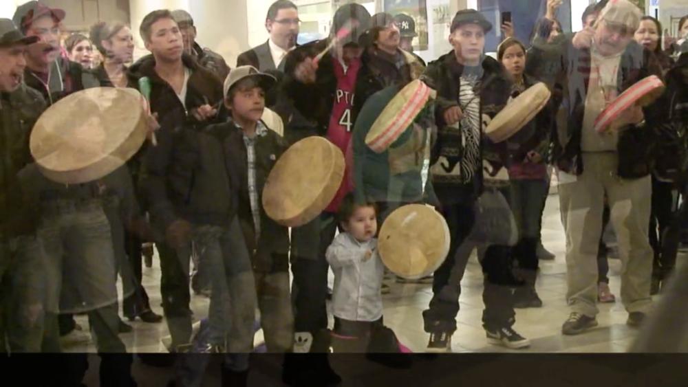 Idle No More Midtown Mall Saskatoon