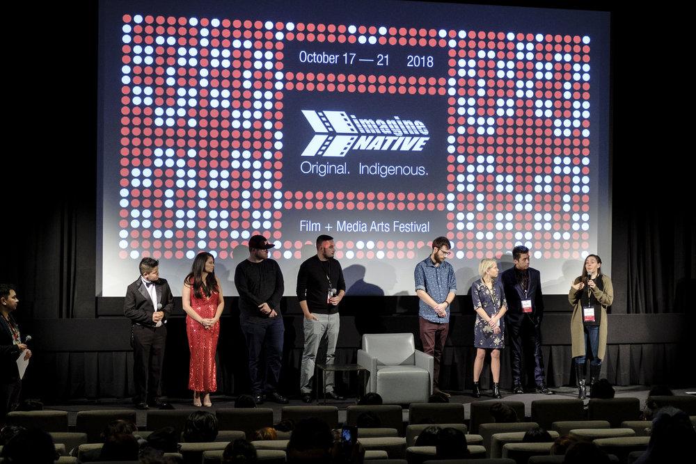 2018 imagineNATIVE Originals Screening Q&A