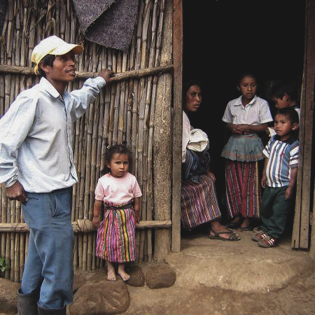 1.5 million rural Guatemalans live in makeshift houses -
