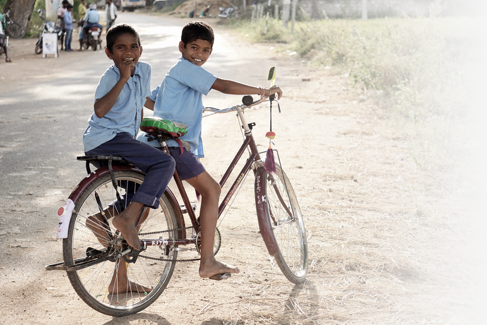 Vijay and Anil - By supporting the Hope Redeems Fund, you can help boys like Vijay and Anil pursue their dream of becoming police officers. In rural India, very few children have the opportunity to go to school.You can give the gift of education, and hope for a better future, to kids just like these two by lending your support.