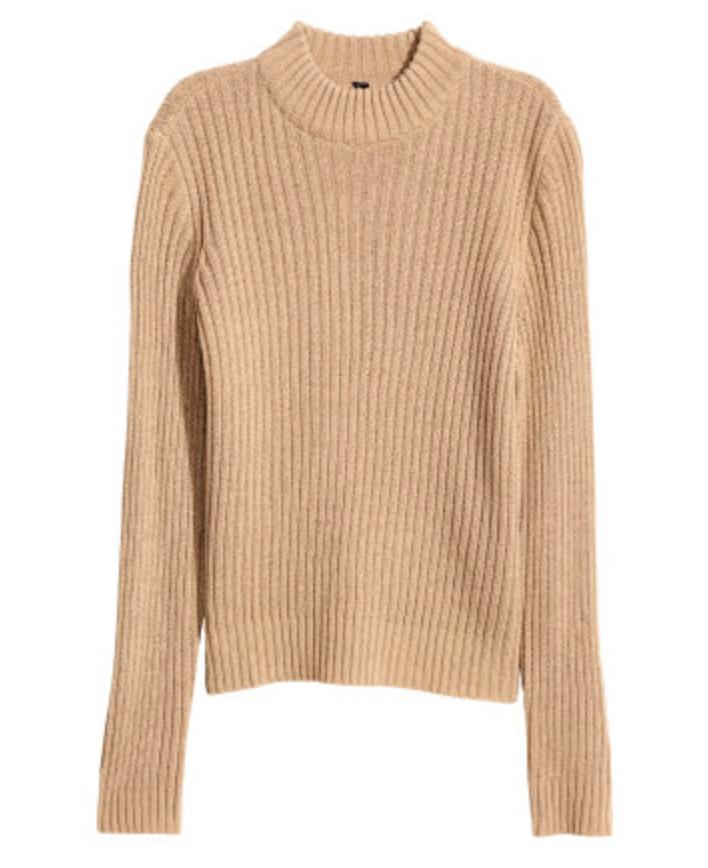 Shop Rib-Knit Sweater
