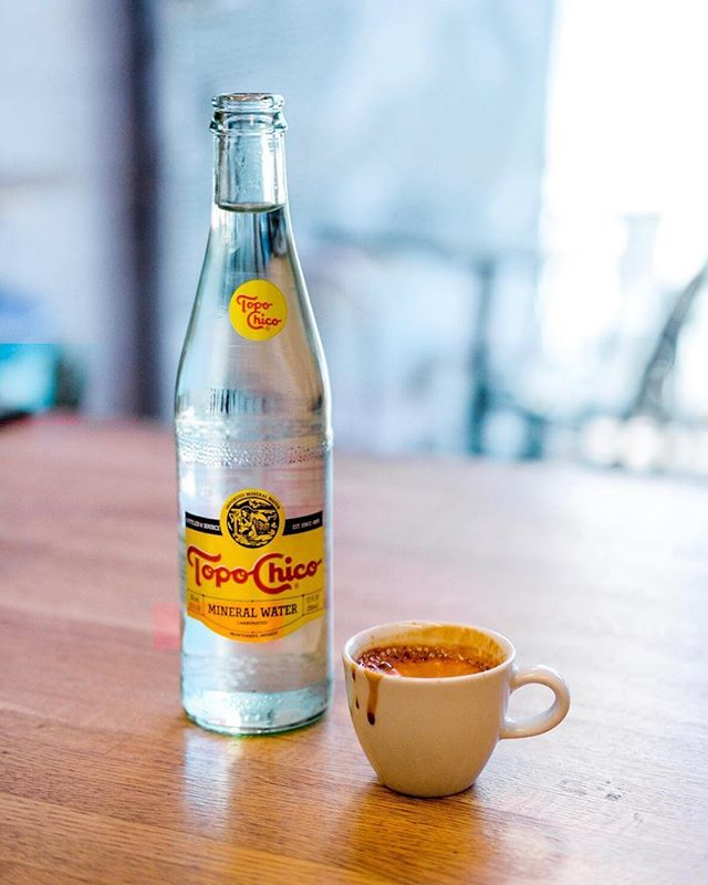 @jacobalyle is our new Barista and whips up a dang tasty espresso, and would ya look at that, he takes nice pictures too 💪  #Repost @jacobalyle ・・・ The best work starter combo @luckywheelscoffee. How do you start your day? . . . . . . . . #coffee #coffeeshop #espresso #topochico #photography #luckywheelscoffee #luckywheelsgarage #likeforlikes #morning #cafe #followforfollowback #photos #fujifilm
