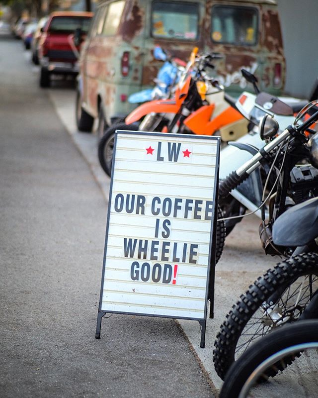 It wheelie is! Come on down and get your fix today! We're open until 4 PM! 📸: @jacobalyle