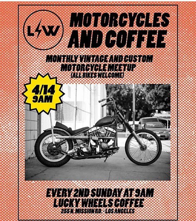Back again with Motorcycles and Coffee tomorrow morning at 9am! All bikes are welcome, so come by and enjoy a fresh cup of coffee. 😉 See ya! 👋