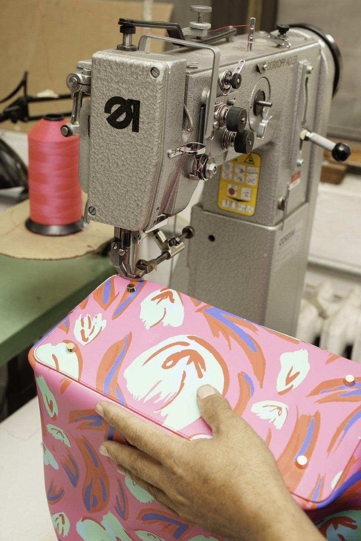 Hope Macdonald production facility.   Garment District, Manhattan.