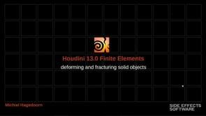 HOUDINI — William Sokoloski Visual Effects