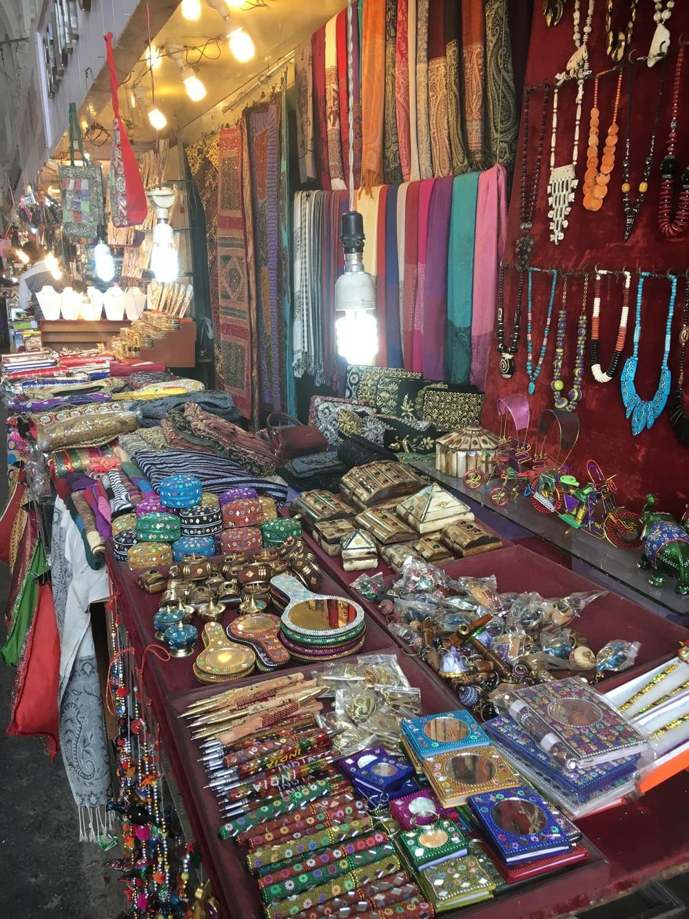 Inside bazaars