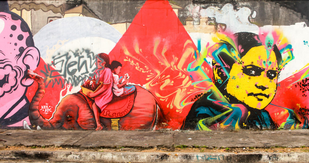 Grafitti in Bogota