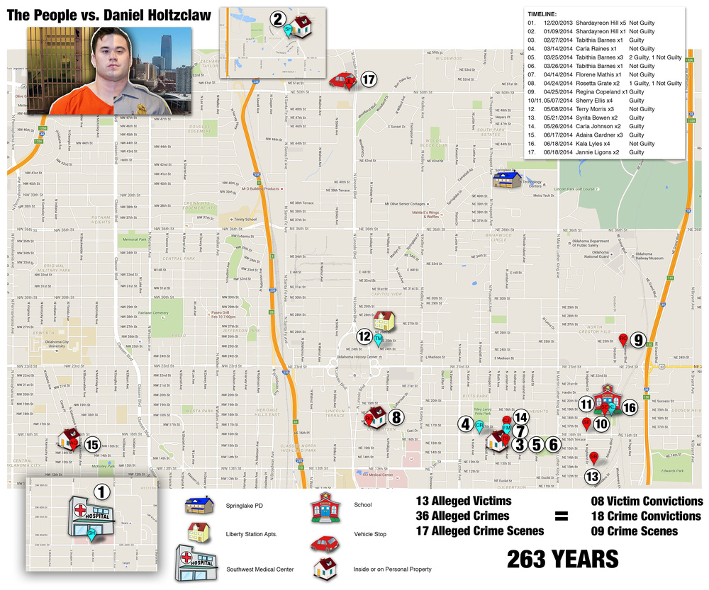 Crime Scene Map