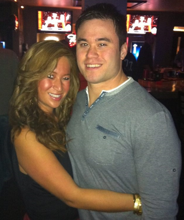Daniel Holtzclaw with his sister Jenny.