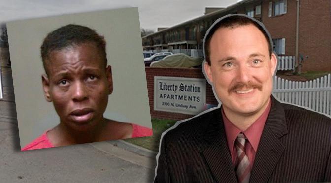 Left: Accuser Terri Morris. Right: Detective Rocky Gregory.