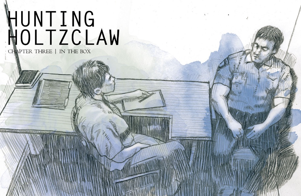 Read HoltzclawTrial.com's reaction to 'Hunting Holtzclaw' Ch 3