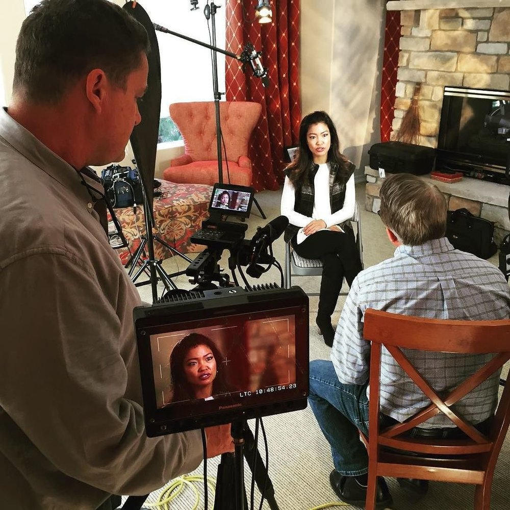 Michelle Malkin being interviewed for the Crime Watch Daily special regarding the Daniel Holtzclaw case.