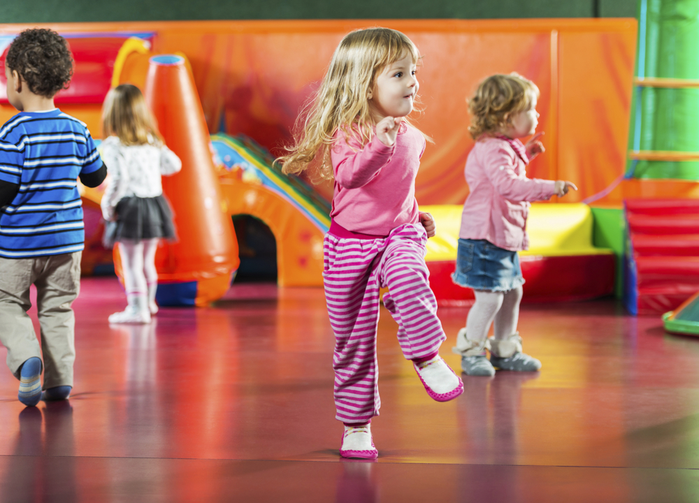 Creative Movement and Tumbling   Your child's first movement class is sure to keep them coming back with fun activities, sing-alongs, games, and movement exercises.  Kids learn balance, coordination, rhythm, and develop social skills through our engaging preschool-age classes.
