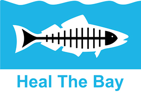 Click the logo to learn more about Heal The Bay.