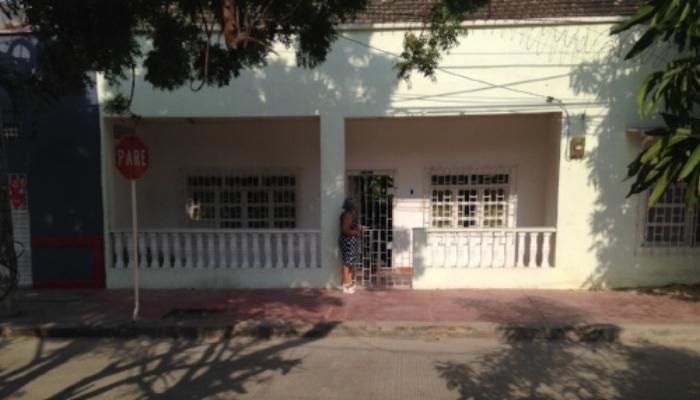 Casa donde nació en 1918 el compositor situada en Calle Nueva (Calle 19) con la Avenida 13 de junio (Carrera 19 sector Centro),municipio de Soledad, departamento del Atlántico. Colombia. (Archivo RCV)