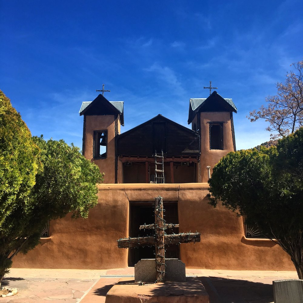 The chapel at El  Santuario de Chimayo