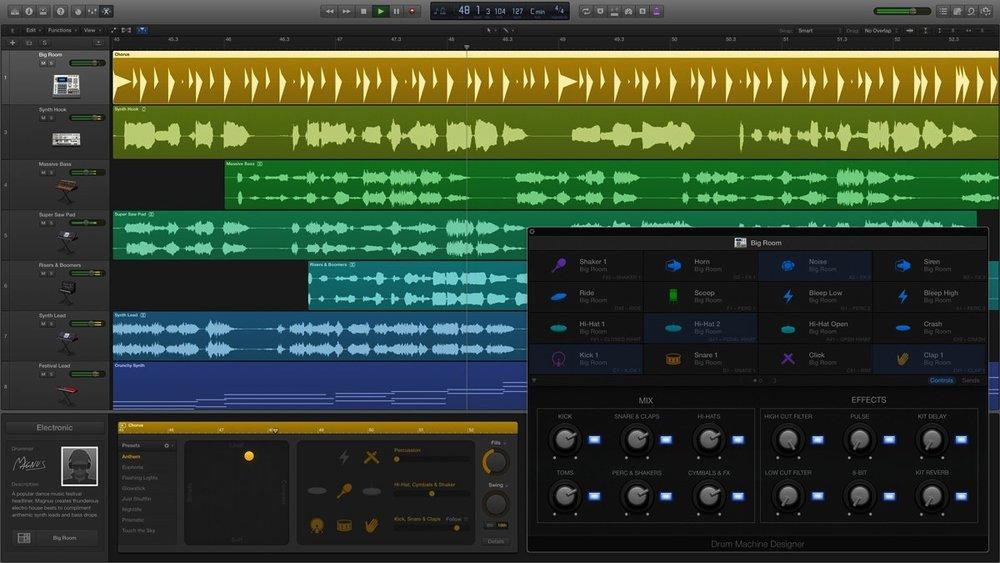 Musique à vos oreilles! - Equipé d'outils sonores incroyables, la production de son est un jeu d'enfant.