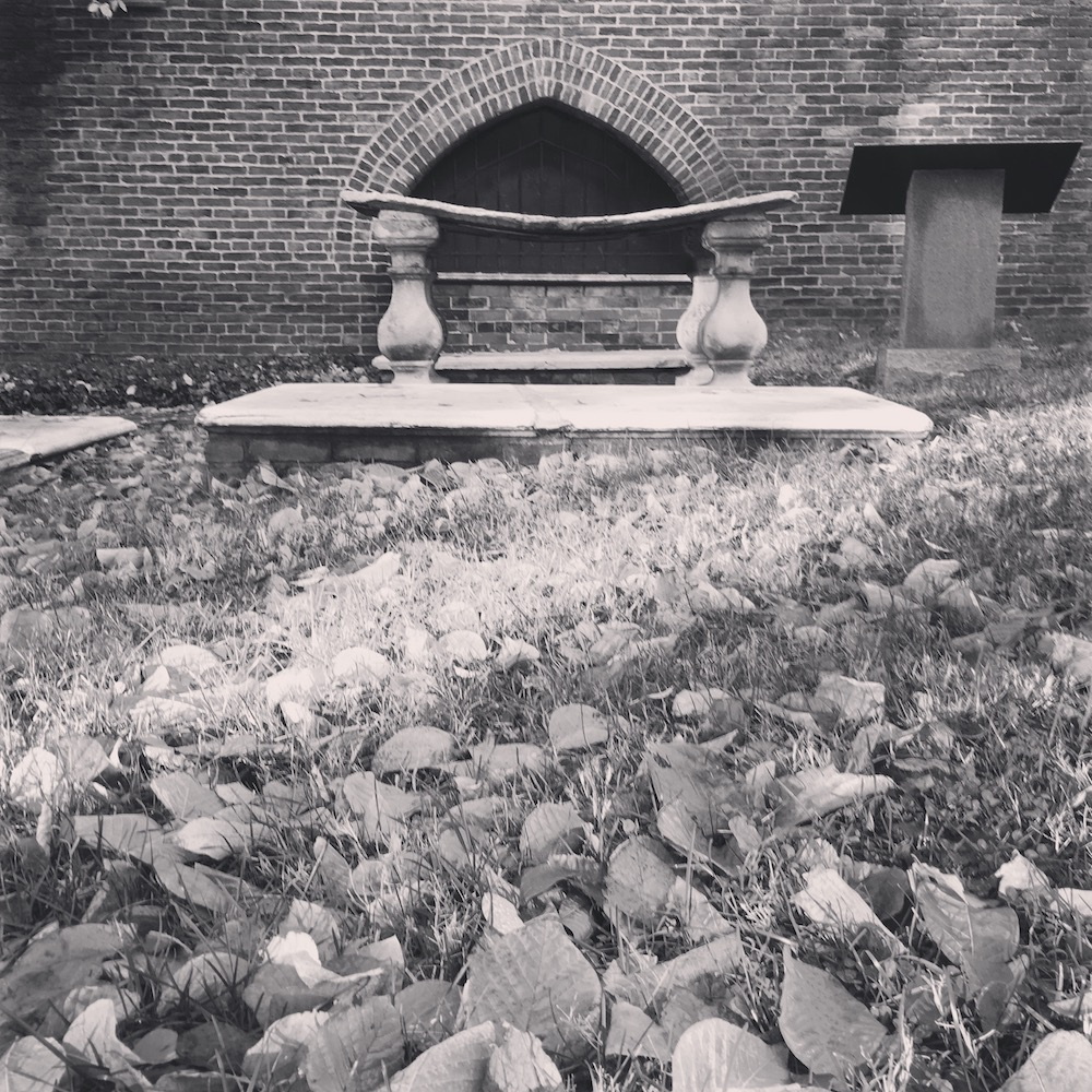 One of the many interesting burial places in the Westminster Hall Burial grounds, Baltimore, MD.