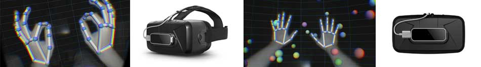 Leap Motion and Oculus for Virtual Reality