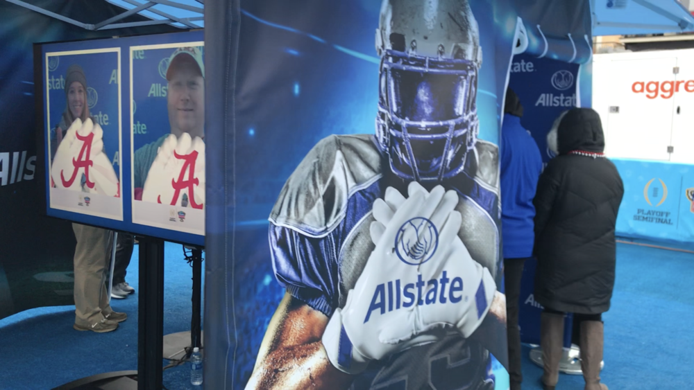 ALLSTATE: AR PHOTO EXPERIENCE Octagon, Allstate, Event