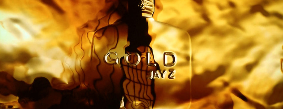 Future Colossal - JAY-Z: Gold Molten gold fluid simulation